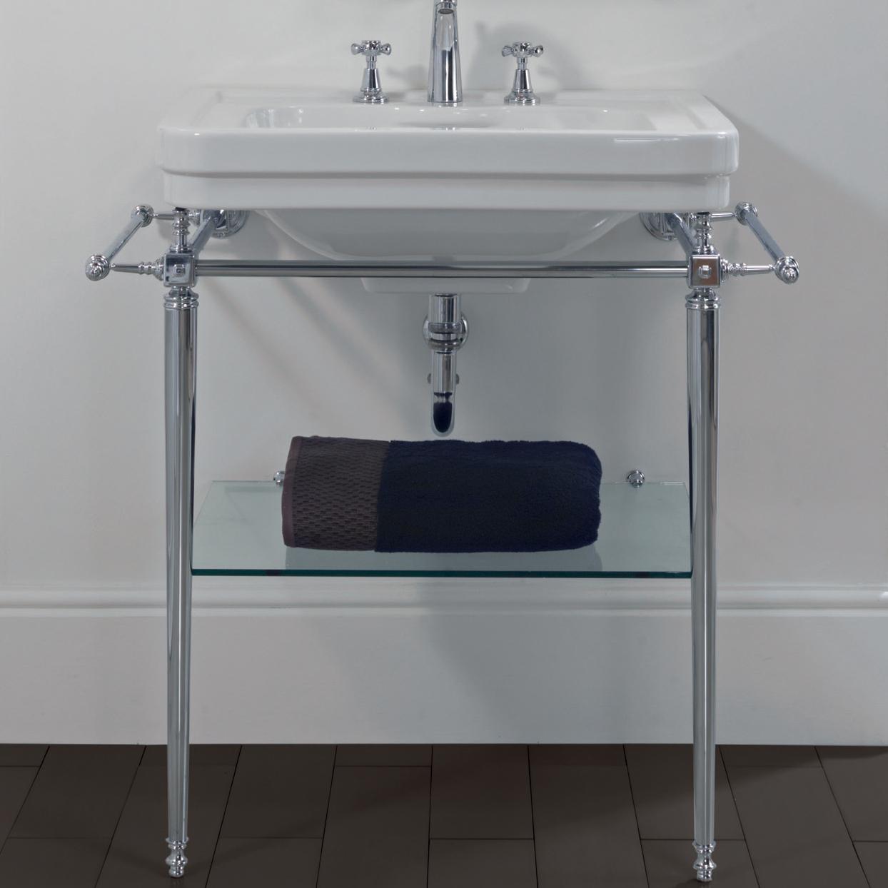 Inredning tvättställ med pelare : Imperial Bathroom Chelsea StÃ¥lställning 20-ZXBS3800 – Corex AB