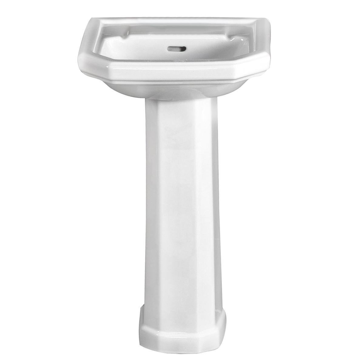 Inredning tvättställ med pelare : Twyford Clarice 5-CL4910WH – Corex AB